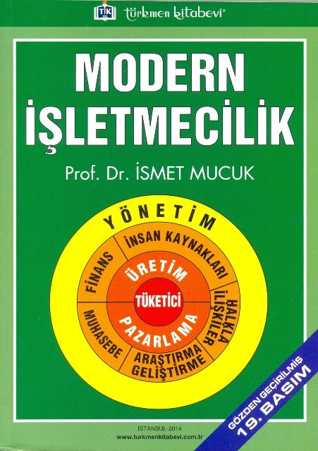 Modern İşletmecilik 19. Basım